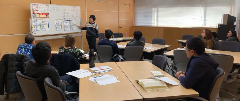 日本語講座写真